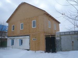 Надстройка второго этажа на дом из шлакоблока