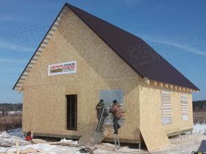 Двухэтажный дом для многодетной семьи