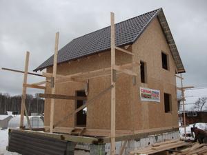 быстровозводимый дом из SIP панелей