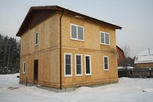 панельный дом из КТП Экопан
