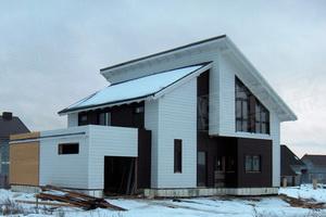 Каркасные дома по ригельной технологии