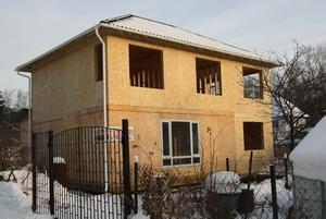 Реконструкция каркансо-панельного дома