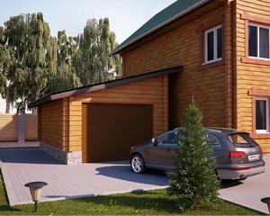 Типовой проект гаража из КТП, SIP, панелей Экопан