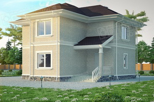 каркасно-панельный дом Экопан