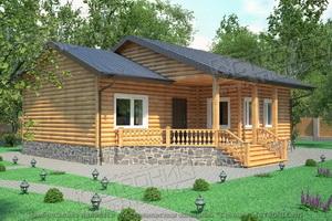 Типовой проект дома Экопан