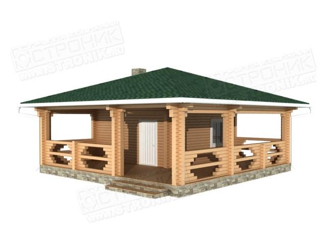 строительство бани из бруса под ключ